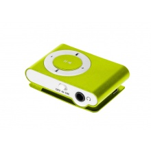 Odtwarzacz MP3 mini Mono-Tech, zielony (AV9002)