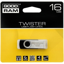 PENDRIVE 16GB GOODRAM TWISTER  (AK8008)