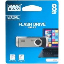 PENDRIVE 8GB GOODRAM TWISTER  (AK8001)
