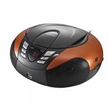 Radio z odtwarzaczem MP3 SCD-37 USB LENCO, orange (AV3009)