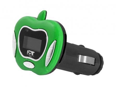 Transmiter FM MonoTech APPLE GREEN (AV10009)